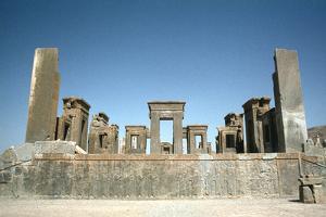 Palace of Darius, Persepolis, Iran by Vivienne Sharp