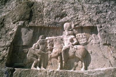 Relief of Shapur I, Naqsh-I-Rustam, Iran by Vivienne Sharp