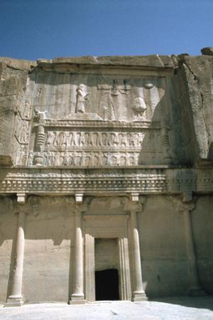 Relief, Tomb of Artaxerxes Ii, Persepolis, Iran by Vivienne Sharp