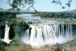 Tississat Falls, Blue Nile, Ethiopia by Vivienne Sharp