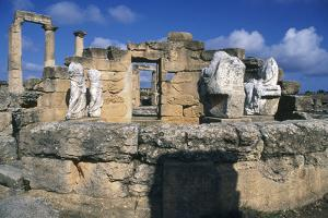 Tomb of Battus, Agora, Cyrene, Libya, C600 Bc by Vivienne Sharp