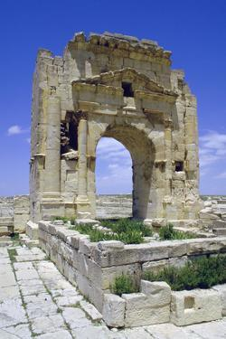 Trojans Arch, Maktar, Tunisia by Vivienne Sharp