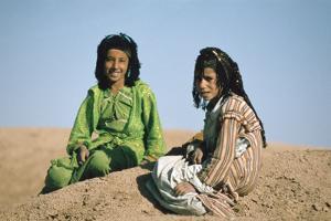 Two shepherdesses, Calah (Nimrud), Iraq, 1977 by Vivienne Sharp