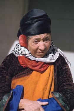 Woman from an Aramaic speaking community, Iraq, 1977 by Vivienne Sharp
