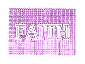 Faith by Viz Art Ink
