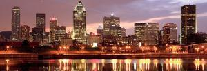 Montreal Skyline at Dusk, Quebec, Canada by Vlad Ghiea