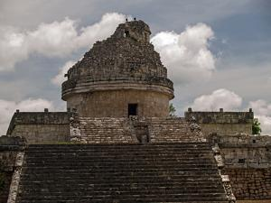 El Caracol Observatory Temple in the Ancient City of Chichen Itza by Vlad Kharitonov