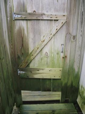 Weathered Door at a Seaside Cottage by Vlad Kharitonov