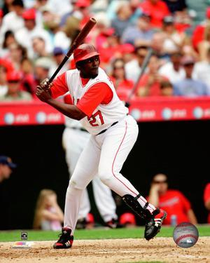 Vladimir Guerrero - 2007 Batting Action