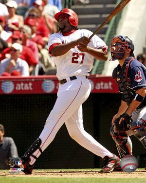 Vladimir Guerrero 2008 Batting Action