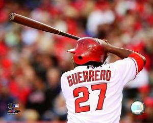 Vladimir Guerrero 2008 Batting Action