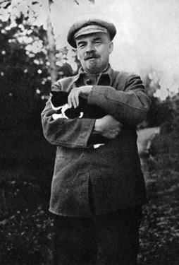 Vladimir Ilich Lenin, Bolshevik Leader, Gorki, Russia, August or September 1922