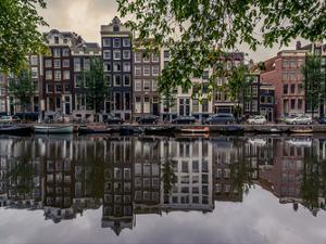 Amsterdam Reflections by Vladimir Kostka