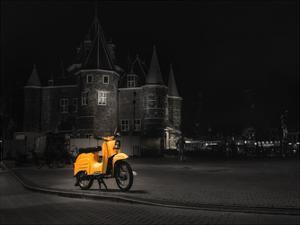 Amsterdam Scooter by Vladimir Kostka