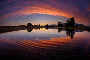 Canoe Sunset by Vladimir Kostka