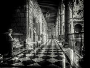Hallway by Vladimir Kostka