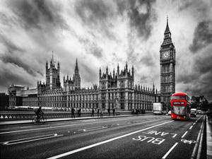 London Doubledecker by Vladimir Kostka