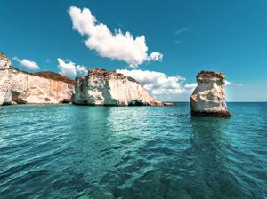 Rocks of Milos 1 by Vladimir Kostka