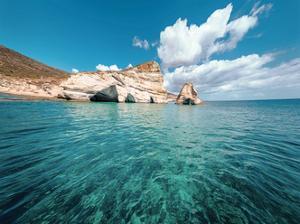 Rocks of Milos 2 by Vladimir Kostka