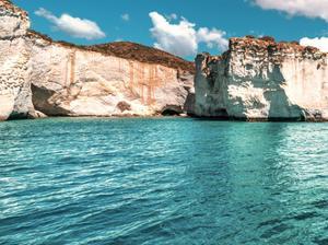 Rocks of Milos A by Vladimir Kostka