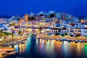 Agios Nikolaos, Crete, Greece by Vladimir Sklyarov