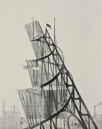 Monument to the Third International (Tatlin's Tower), 1919 by Vladimir Tatlin