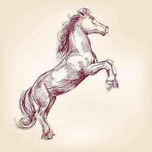 Horse Vector Llustration by VladisChern