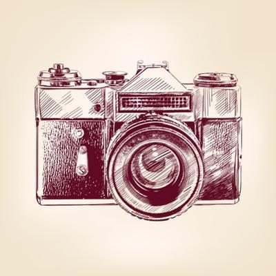 Vintage Old Photo Camera by VladisChern