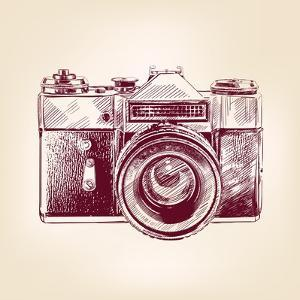 Vintage Old Photo Camera by VladisChern