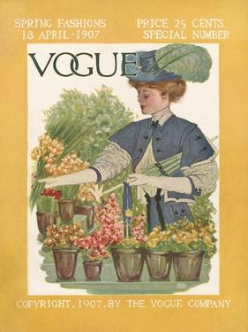 Vogue Cover - April 1907
