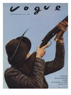 Vogue - October 15, 1936 - Hunting Season