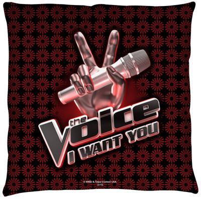 Voice - Logo Throw Pillow