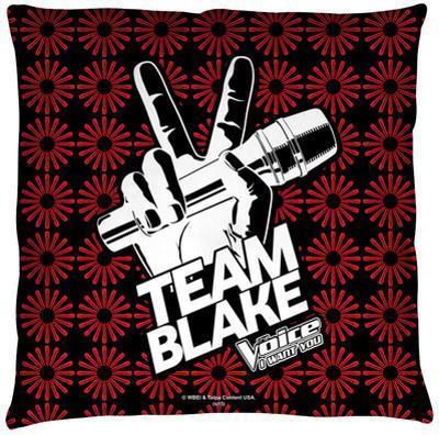 Voice - Team Blake Throw Pillow