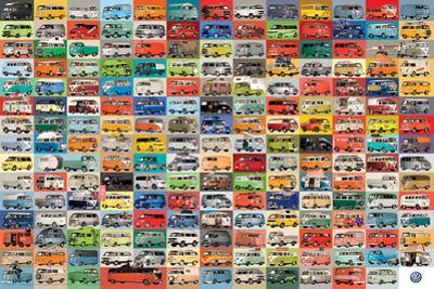 Volkswagen- Groovy Vanagan Collage