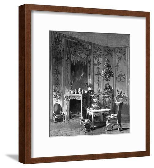 Voltaire Sans Souci--Framed Giclee Print