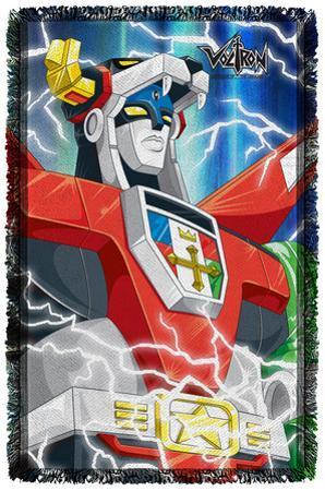 Voltron - Lightning Combine - Woven Throw
