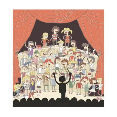 Funny School Choir Singing by vook