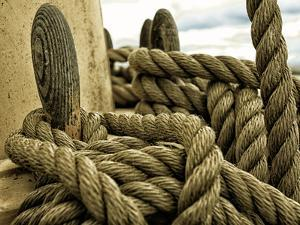 Yachting. Parts of Yacht. Nautical Ship Rope. by Voy