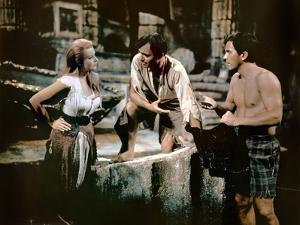 Voyage au centre by la terre JOURNEY TO THE CENTER OF THE EARTH by HenryLevin with Arlene Dahl, Pat