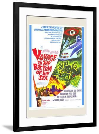 Voyage to the Bottom of the Sea--Framed Poster