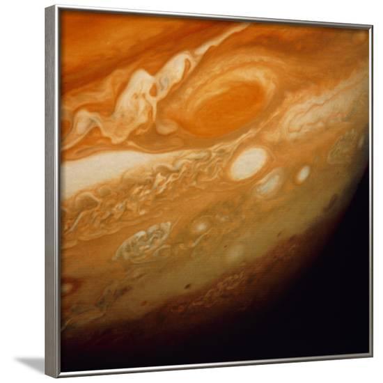 Voyager 1 Image of the Planet Jupiter--Framed Photographic Print