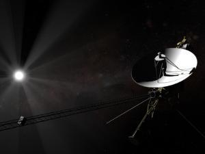 Voyager 1 Leaving the Solar System