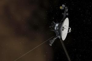 Voyager 1 Spacecraft Entering Interstellar Space