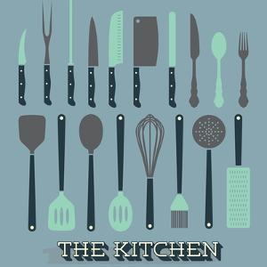 Vector Set: Kitchen Supplies by vreddane