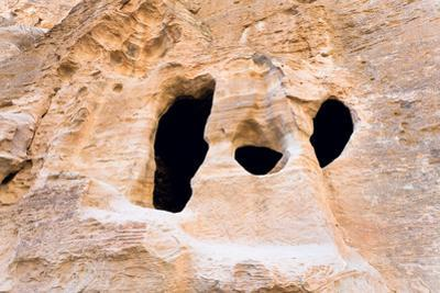 Living Ancient Cavern in Little Petra