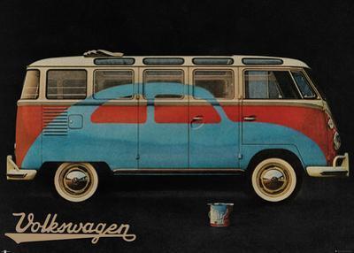 VW Camper Advert