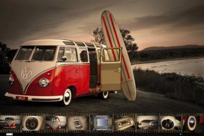 VW- Kombi Surfboard