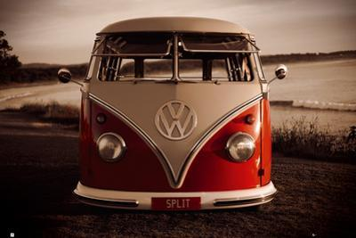 VW Red Combi