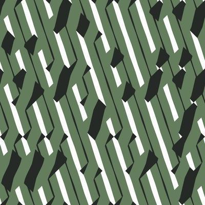 Evolving Geometry - Vector Seamless Pattern