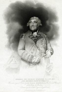 George Augustus Eliott, 1st Baron Heathfield by W. Bond